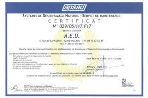 APSAD DSN MAINTENANCE ECH 30 12 2019