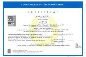 CERTIFICAT-AED-2018